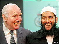 John Reid and Imam Asim Hafiz