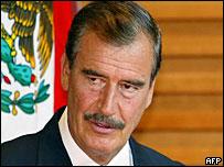 Presidente de M�xico, Vicente Fox