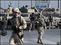 Soldados de la coalición en Irak