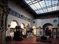 Зал Пушкинского музея