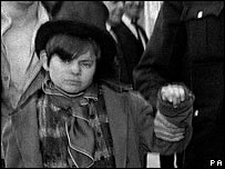 Jack playing the Artful Dodger in Oliver