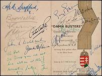 Dam Busters memorabilia
