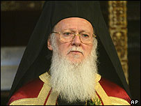 Head of the Orthodox Christian Church, Patriarch Bartholomew