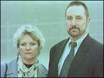 Janet and Paul Betts pictured in 1997