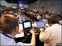 Delegados en Túnez