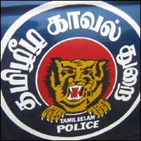 The LTTE police sign
