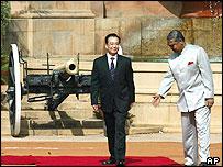 Visita de Wen Jiabao a la India