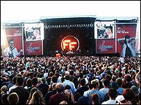 V Festival main stage