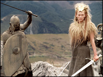 Tilda Swinton in The Chronicles of Narnia: The Lion, the Witch and the Wardrobe