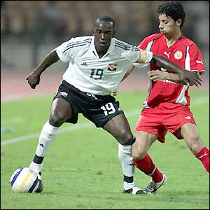 Dwight Yorke in action