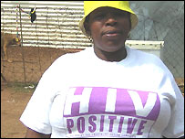 South African Matsidiso Madondo is HIV positive