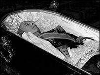 Francisco Franco muerto.