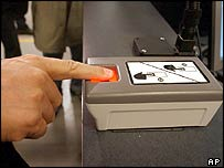 Fingerprinting equipment