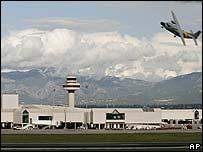 San Joan Palma de Mallorca airport in Majorca, Spain