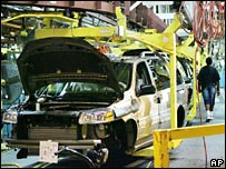 GM production line