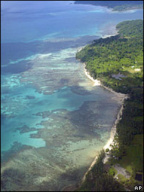 A view of coral reef in south-eastern Andaman and Nicobar Islands
