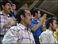 Iranian basketball fans