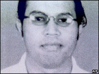 In this picture released by Indonesian police on Nov. 3, 2003, Malaysian terror suspect Noordin Mohamed Top is shown.