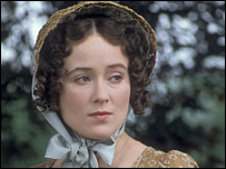 Jennifer Ehle as Elizabeth Bennet in the BBC production of Pride & Prejudice