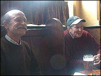 Russell Hicks (left) and John Tobin (right)