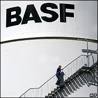 BASF chemicals storage facility