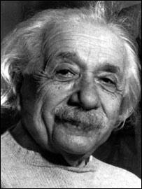 Albert Einstein, físico alemán