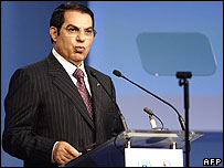 President Zine El Abidine Ben Ali