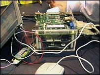 El interior de la computadora