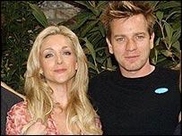 Jane Krakowski and Ewan McGregor