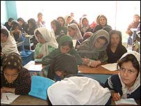 Children at the Aschiana centre, Kabul