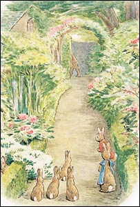 The Flopsy Bunnies - Copyright©Frederick Warne & Co., 1909, 2002
