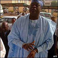 Former inspector general of Nigeria's police Tafa Balogun