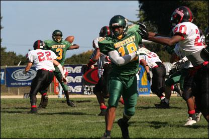 high school football match