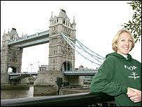 2004 marathon winner Paula Radcliffe