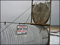 Polar bear trap (BBC)