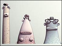 Some of the Aardman non-voting creations