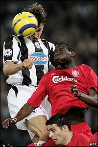 Partido Juventus-Liverpool.