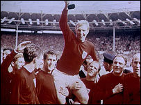 Bobby Moore with World Cup