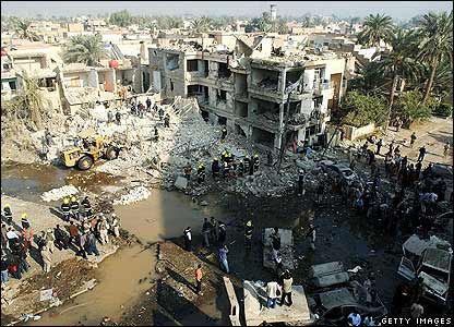انفجارات بغداد