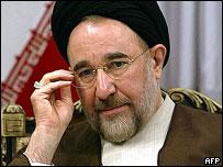 الرئيس الإيراني السابق محمد خاتمي