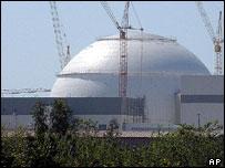Reactor nuclear de Bushehr