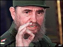 Cuban President Fidel Castro (file photo - 1999)