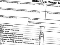 Proposed flat-tax form
