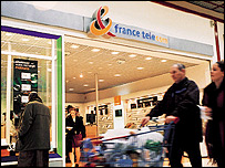 France Telecom shop