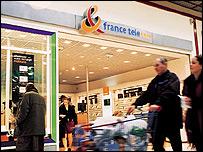 France Telecom shop