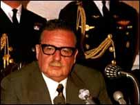 Salvador Allende, presidente de Chile
