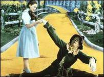 Escena de El Mago de Oz