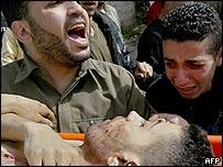 Family members mourn Ibrahim Smeri