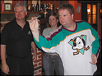 Rod Harrington, Jennifer Quinn and Colin Lloyd