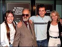 Giorgio Agnolozzi with the Riva family